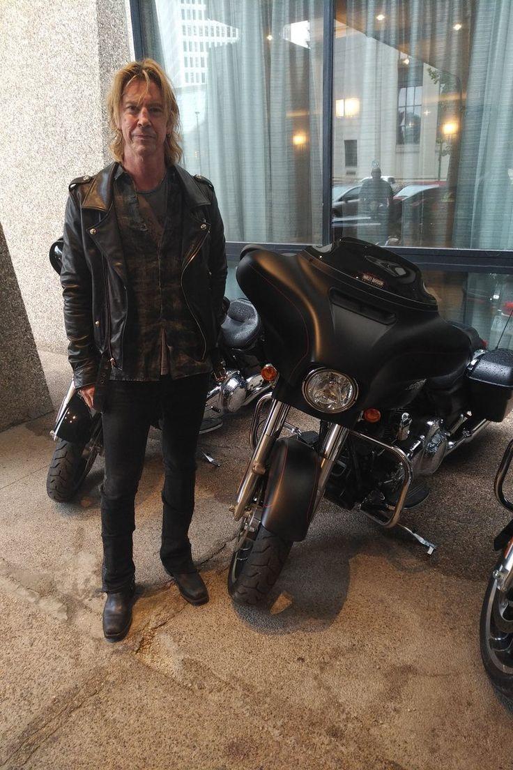 Duff McKagan at Winnipeg Harley Davidson, August 2017