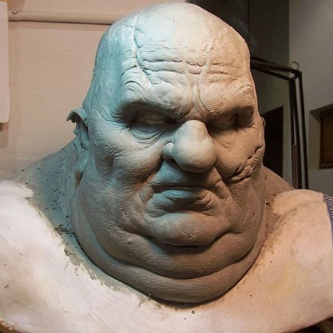 """Executioner Makeup sculpt seen in the film """"300"""" created by the brilliant @creaturesmith331 ,really wish we got to see more of this guy and his blade arms. #300 #executioner #sculpture #sfx #fxmakeup #ugly #zacksnyder #riseofanempire #spartan #persia #king #god #sparta #greek"""