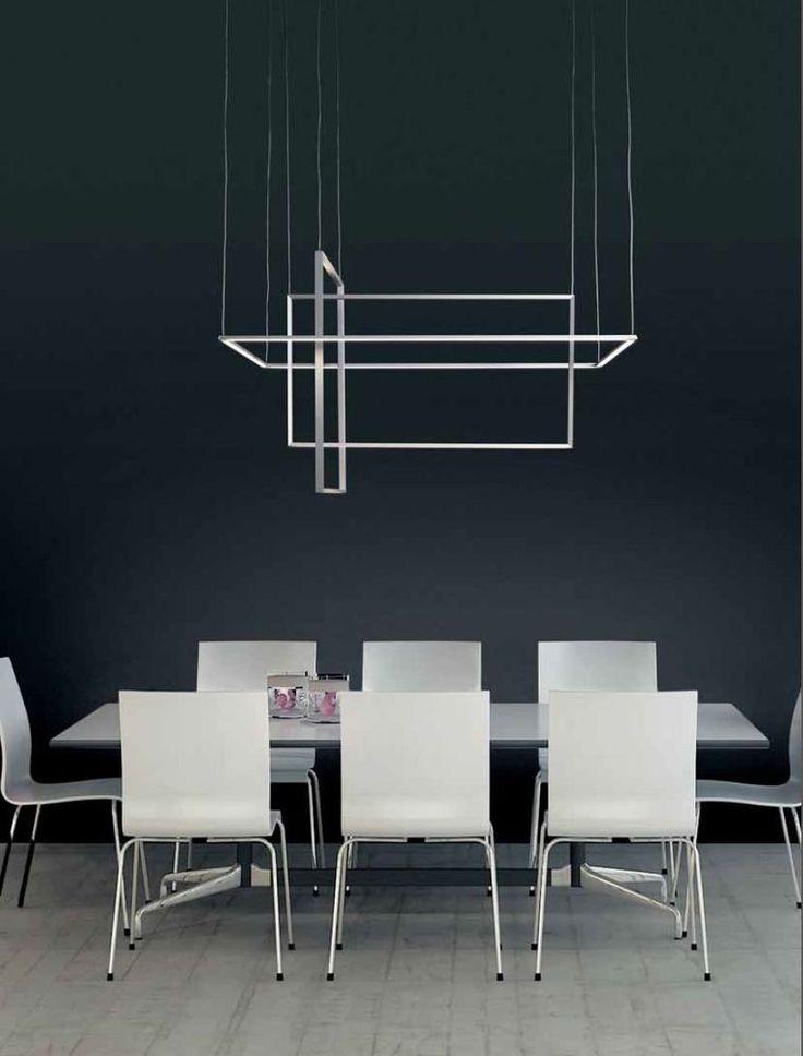 Oltre 25 fantastiche idee su illuminazione per tavolo da - Lampada a sospensione per tavolo pranzo ...