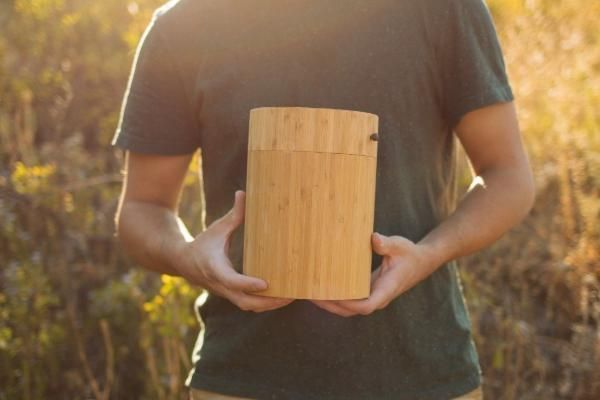 Bamboo Cremation Burial Urn