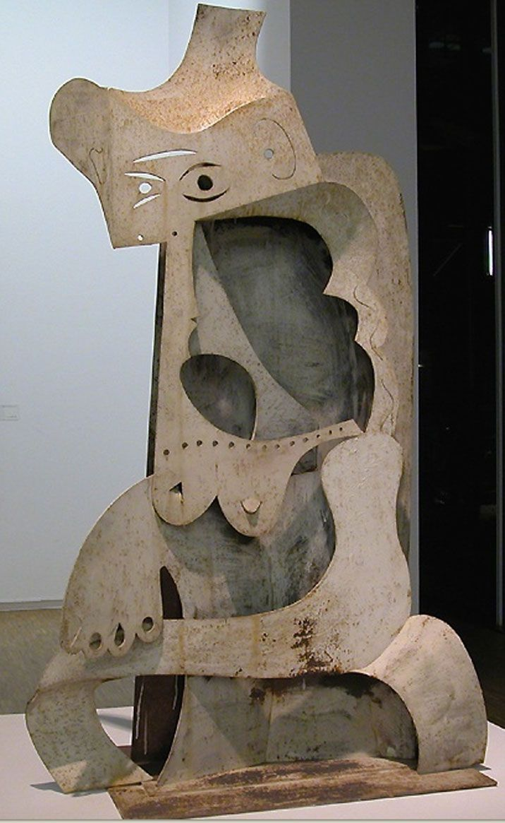 Pablo Picasso - 'Femme au Chapeau' Centre Georges Pompidou, Paris, France