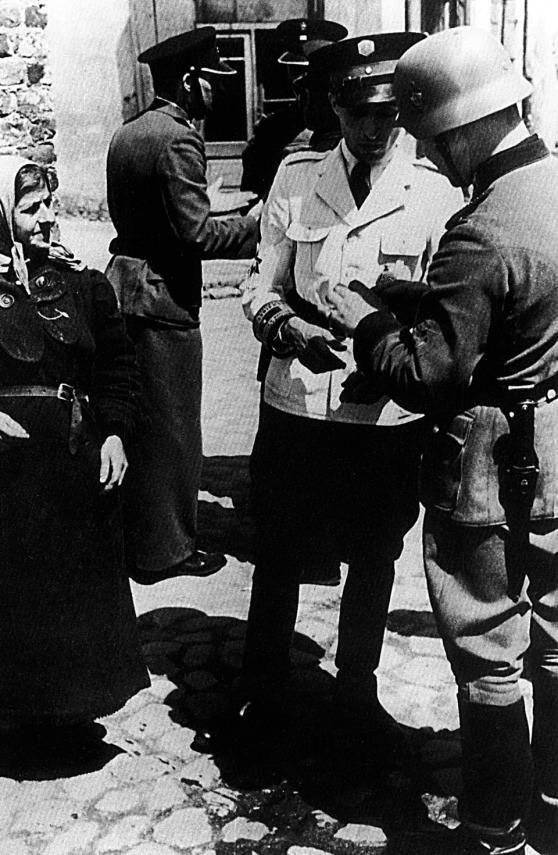 Jak Żydzi kolaborowali z Niemcami :: Uważam Rze