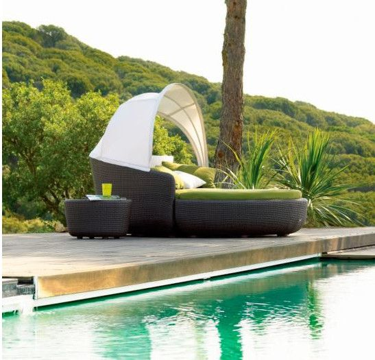 sigma jardn muebles sof cama de mimbre al aire libre silla de playa en tumbonas