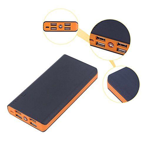 énergies de Banque, ohholly 50000mAh externe énergies de Banque de unterstützungs LED double Chargeur USB pour Téléphone Deux Sortie USB…