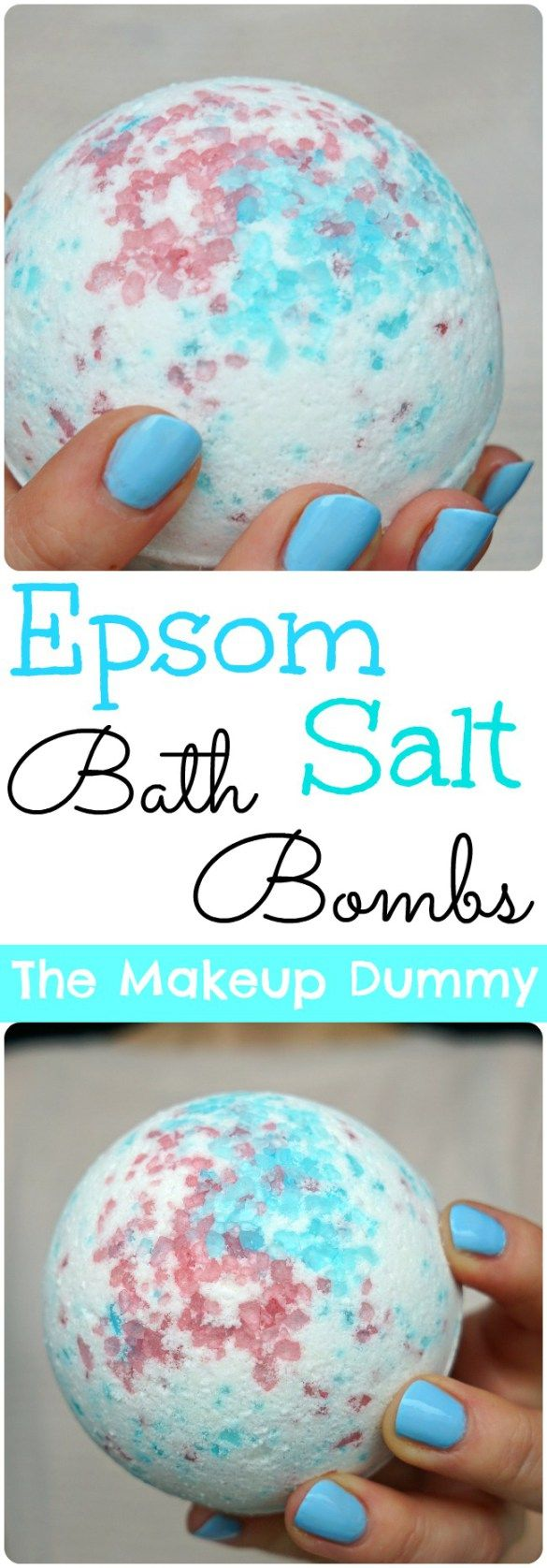 Make your own amazing LUSH inspired DIY Bath Bombs! Copycat tutorial by The Makeup Dummy