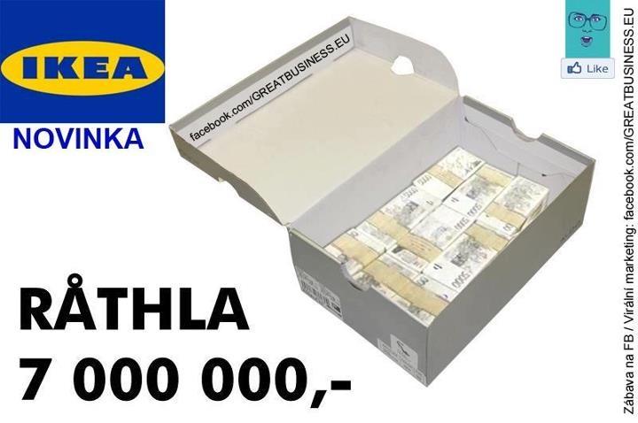 Ikea krabice Rathla