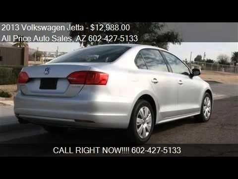2013 Volkswagen Jetta for sale in Phoenix, AZ 85034 at the ALL Price Aut...