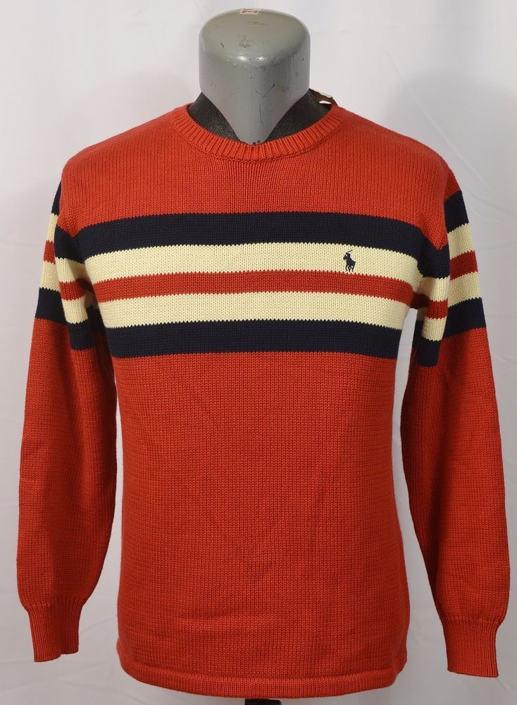 VTG NWT Ralph Lauren Polo Ski Sweater Made in Japan Striped New L Rugby Sport | Clothing, Shoes & Accessories, Kids' Clothing, Shoes & Accs, Boys' Clothing (Sizes 4 & Up) | eBay!