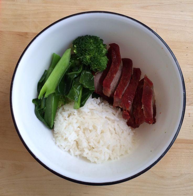 Cha Siu rice