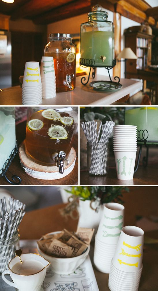 Love the presentation and feel of this party