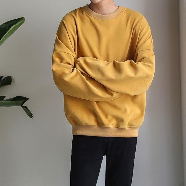 Solid Hoodies Sweatshirt 2018 Blue Men Women Long Sleeve Hip Hop Hoodies To Streetwear Harajuku Clothes H9