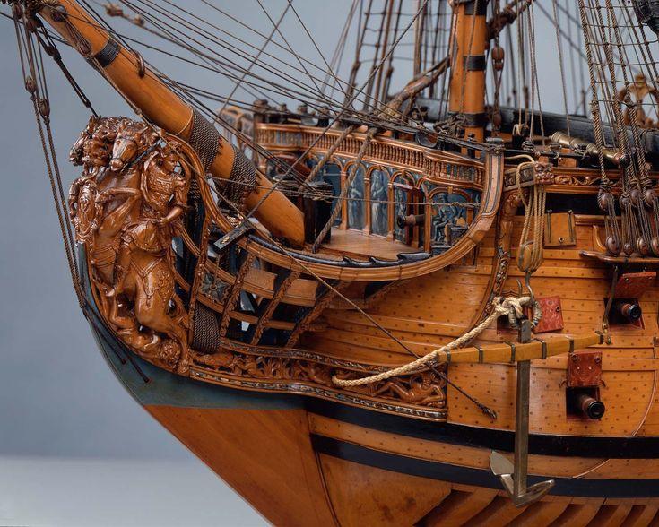 100-gun ship of the line | Museum of Fine Arts, Boston