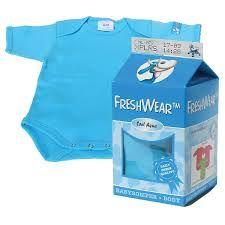 FreshWear Body Milk blue