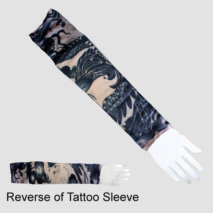 Bird Tattoo Sleeve