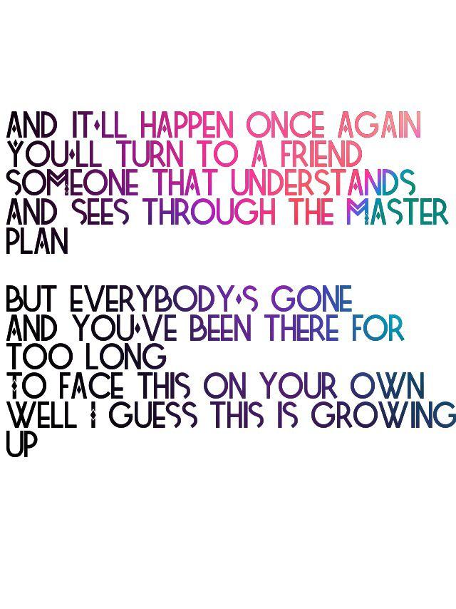 Blink 182 lyrics, dammit