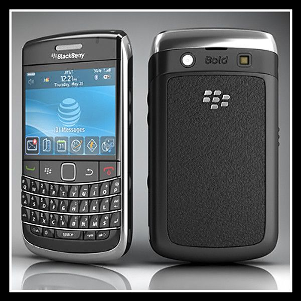 Blackberry Bold 9700 3D Model - 3D Model