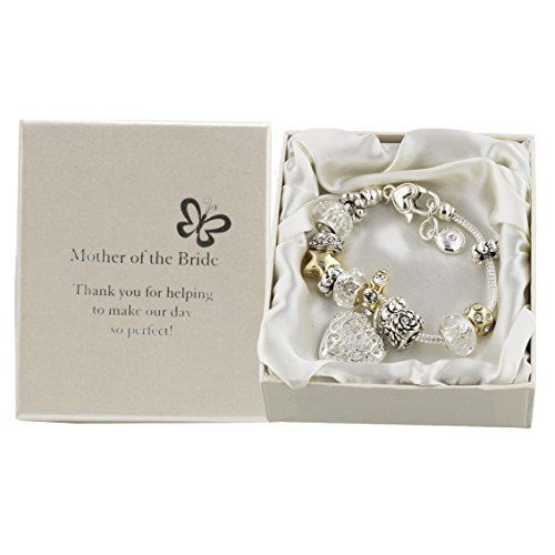 Amore Silver/Gold Bead Charm Bracelet Mother of the Bride  Price : £12.99 http://www.bronzebarngallery.com/Amore-Silver-Charm-Bracelet-Mother/dp/B004LP3T12