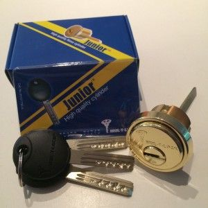 Mul-T-Lock Rim/Mortise solid brass high security cylinder  $60.00  Free shipping in continental USA Category: Locks.
