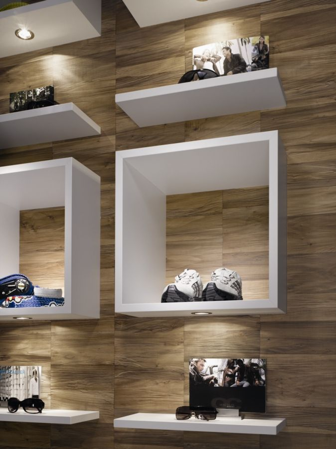Here we see decors including Egger's new Colour Core Laminate range as well as MFC
