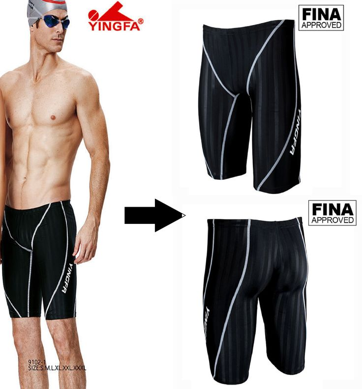 Comfort and style go hand in hand when you wear men competition swimwear from Yingfa.