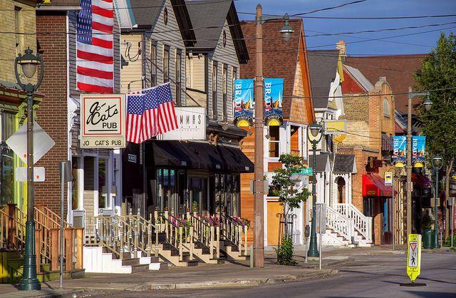 Milwaukee's Little Italy, Brady Street - From Italian American (jovinacooksitalian)
