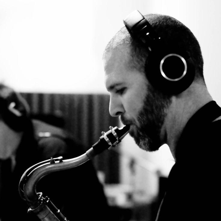 Tracking at Milestone Studios (Pic by Romy Brauteseth)