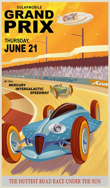 steve thomas posters   ... of posters: Retro-Futuristic Star Wars Travel Posters by Steve Thomas
