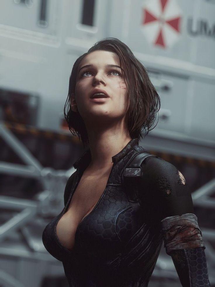Resident Evil 3 Remake Jill Valentine in Latex Black Micro