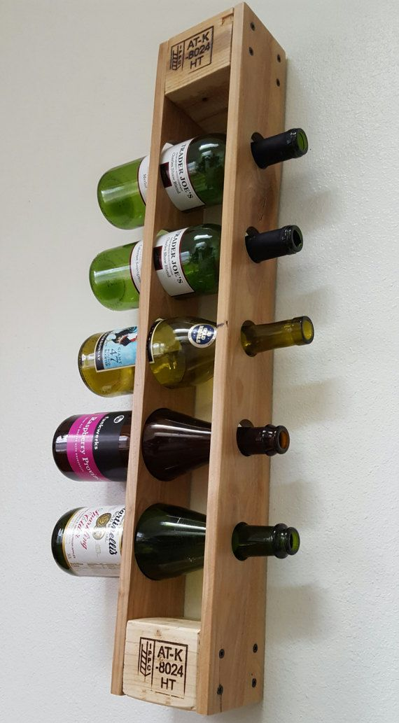 best 25 pallet wine racks ideas on pinterest pallett. Black Bedroom Furniture Sets. Home Design Ideas