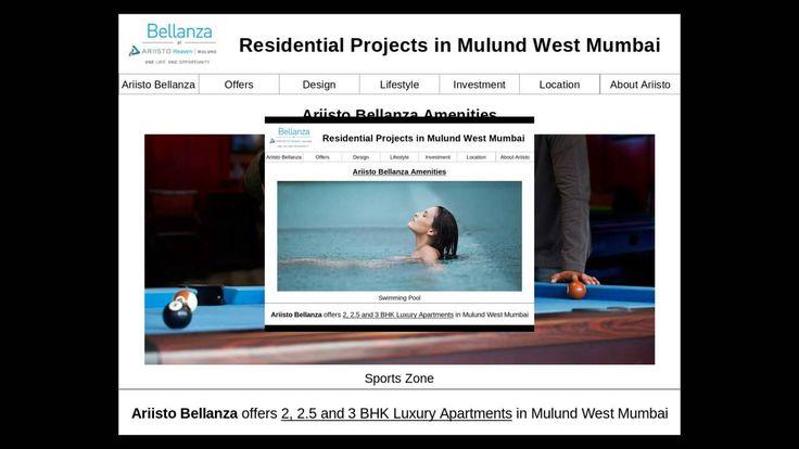 Ariisto Bellanza offers Residential properties in Mulund West Mumbai