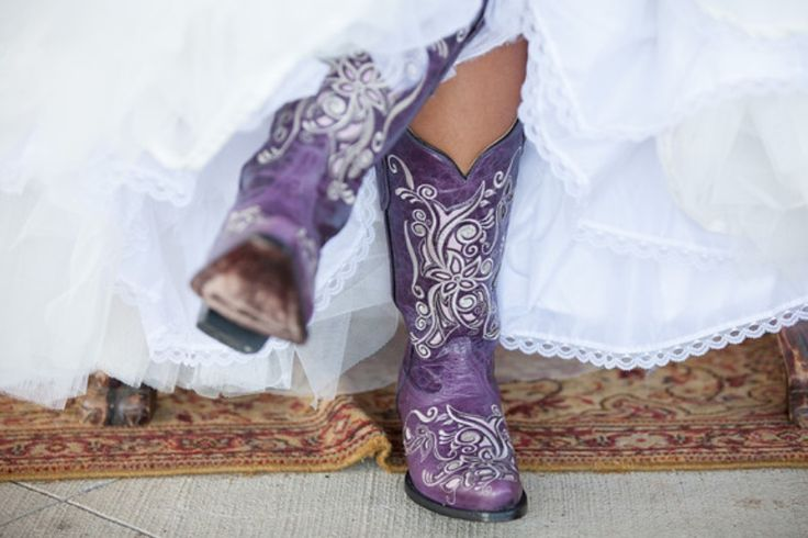My wedding boots! Can't wait till I get married! Lol