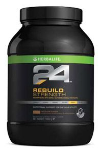 Herbalife 24 Rebuild Strength is for immediate and sustained muscle recovery, it comes in Chocolate flavour. ask me how to get you started : coachhank69@gmail.com