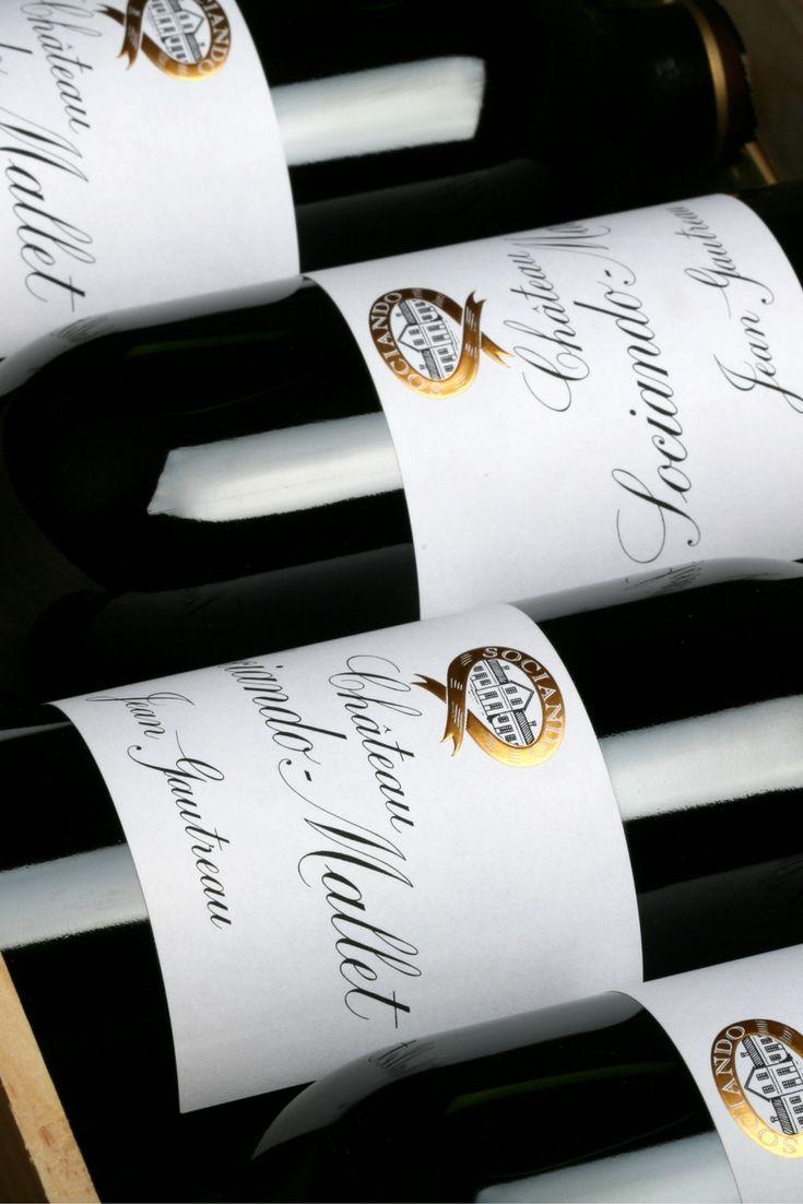 CHÂTEAU SOCIANDO MALLET 2010 - HAUT MEDOC #HautMedoc #Bordeaux #VinMillesima #Millesima (© Photo : Millesima)