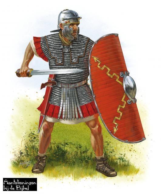 Een romein is een soldaat van het romeinse leger.