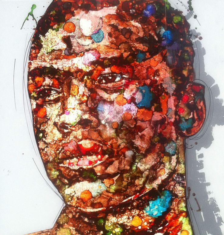 Austin - Painting by Chris Denovan