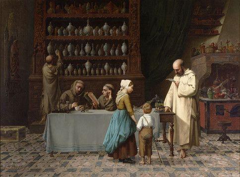 François Victor Jeanneney, Fine Art, Genre Painting ~ M.S. Rau Antiques