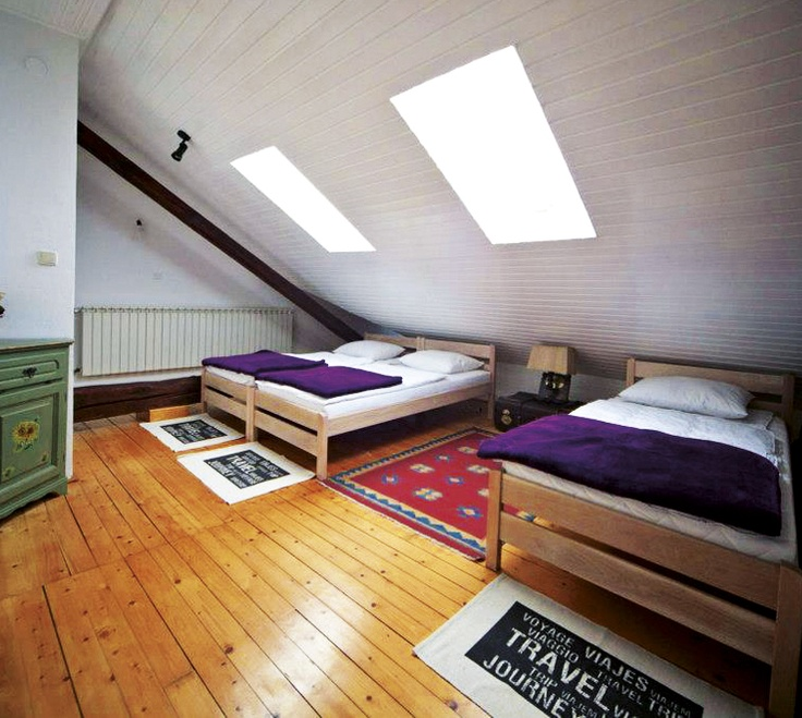 MANSARDA ZAGREB. From 22,69 € person/night. Up to 7 people.