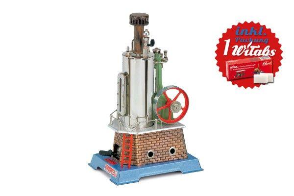 Wilesco Dampfmaschine D455 - stehend