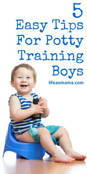 Whether you are ready or not you'll have to accept the fact that your little boy is ready to be potty trained one day. It probably will not be an easy task, but we've got 5 great tips that may help make the process go a little smoother for both you and your son.
