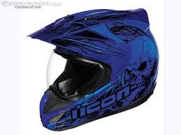 ICON street bike helmet