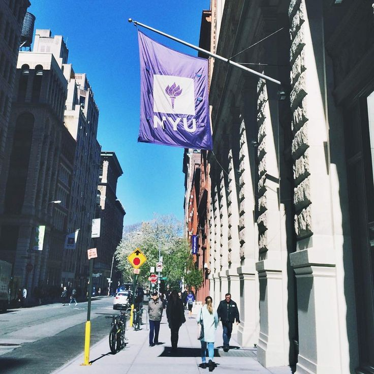 This beautiful #NYC day is distracting us from #NYU finals... Oh well!