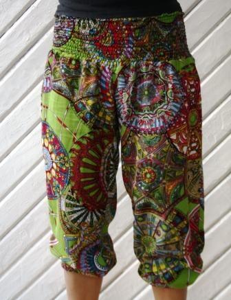 Pantalón Bombacho Estampado