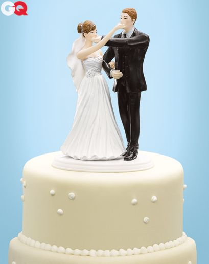 Marriage Cake Toppers