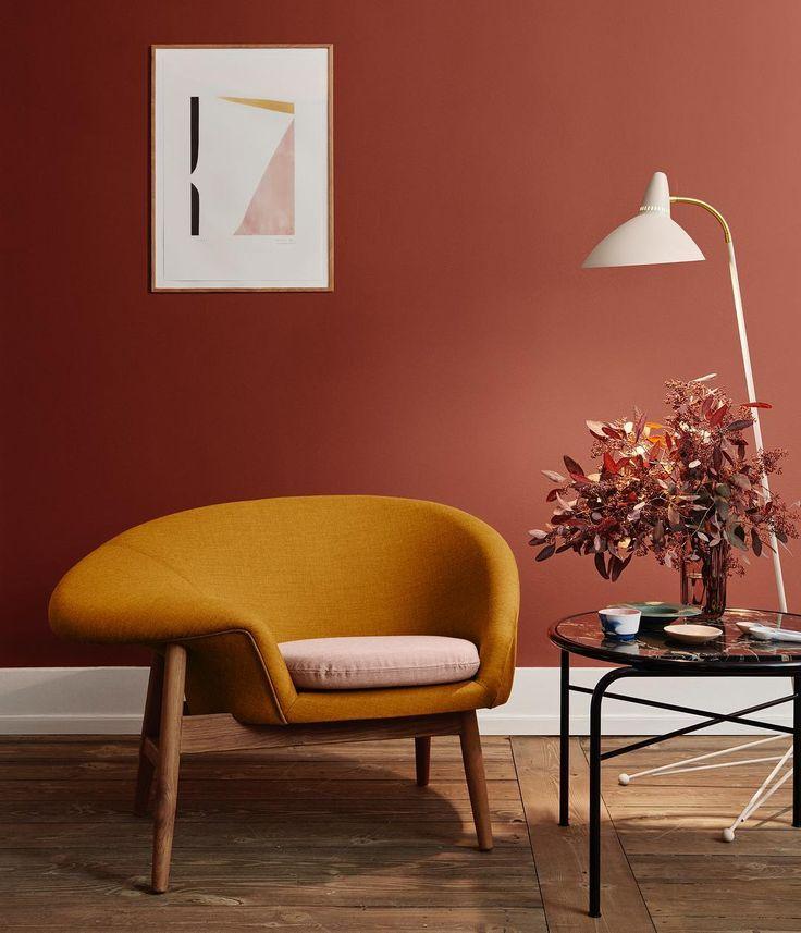 d clinaison de couleurs chaudes autour du jaune orang un. Black Bedroom Furniture Sets. Home Design Ideas