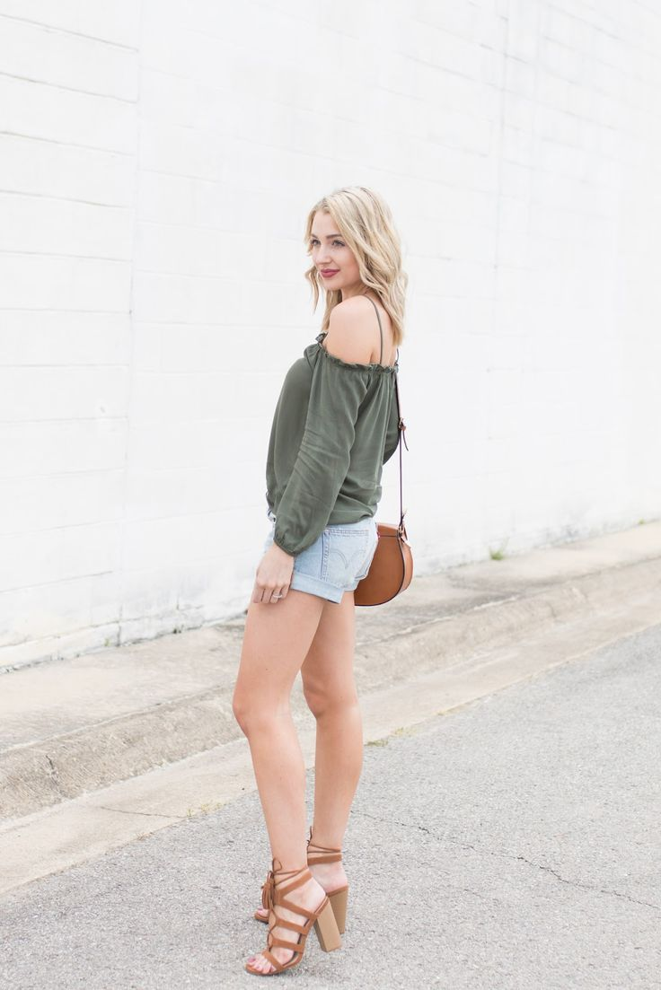 Cute dressy-casual summer outfit