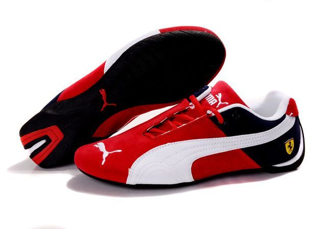 ... | Men's Puma Ferrari Shoes | Mens Puma Ferrari Shoes Red/Whit...
