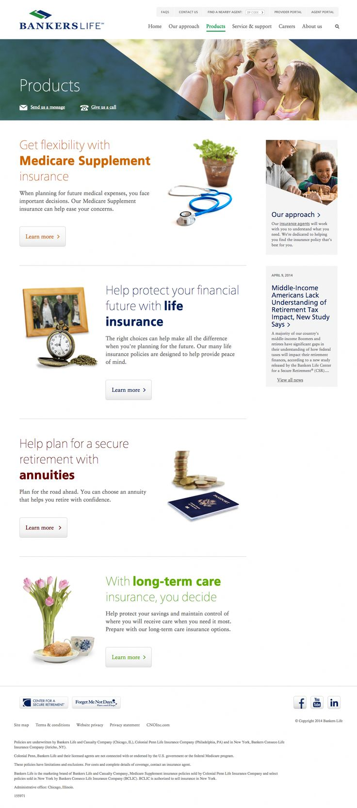 Bankers Life Insurance products Long term care insurance