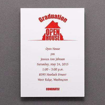17 best images about graduation invitations graduation announcements on pinterest tassels for Graduation open house invitation