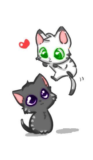 anime kitties | ... i695.photobucket.com/albums/vv319/FoxBloodLust/Anime/emo-anime-cat.png