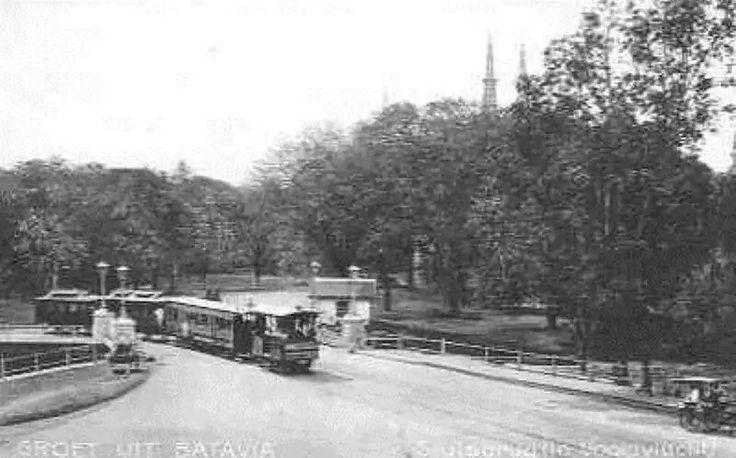 Batavia Weltreden de Sluisbrug ca 1900